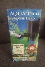 NEW IN BOX Aqua-Tech Power Head Submersible Pump For Aquariums