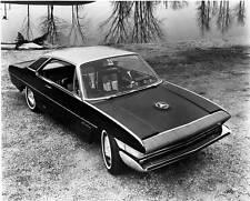Old Photo. 1960s Studebaker Sceptre Concept Car Auto
