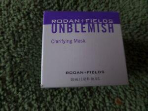 Authentic Rodan+Fields Unblemish Clarifying Mask 50ML. Expires 4/21. New In Box.
