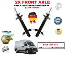 FOR FIAT DUCATO 2.0 2.2.3.0 2006-> 2X FRONT LEFT + RIGHT SHOCK ABSORBERS SET