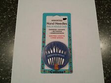 Dial-A-Needle Case of 30 Hand Needles Darning Sharps Betweens Embroidery Sewing