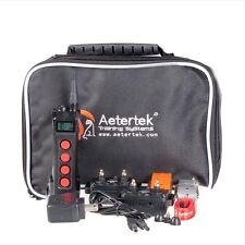 Aetertek Remote Dog Pet Shock + Vibrate Training Collar Waterproof LCD Display