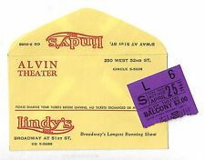 "Tammy Grimes ""HIGH SPIRITS"" Beatrice Lillie / Noel Coward 1964 Ticket Stub"