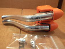 New-Old-Stock Dia-Compe Brake Levers (Non-Aero) w/Orange AME Branded Brake Hoods