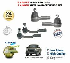 FOR FORD RANGER 2006-2011 MAZDA BT50 2 X INNER + 2X OUTER TRACK RACK TIE ROD END