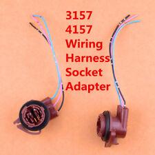 2pcs 3156 3157 3157 4114 4157 Signal Light Female Standard Socket Plug Adapter
