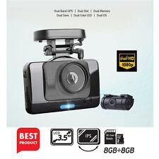 "Dash Camera Lukas V975 / LK-9350 2CH Full-HD UV Filter 3.5""LCD Dual 8Gb + 8Gb"
