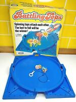 Vintage Battling Tops Game by Ideal Toy Corp 1968 - INCOMPLETE / SPARES Rare Box