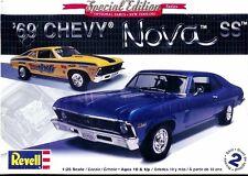 Revell Monogram 2098  1969 Chevrolet Nova SS Model Kit 1/25