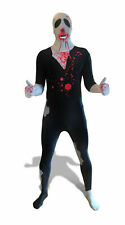 Zombie Morphsuit Adult Costume Morph Jumpsuit Bodysuit Walking Dead Blood Medium
