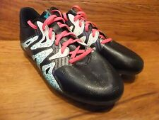 ADIDAS X 15.4 FG nero scarpe da calcio misura UK 5 EUR 38