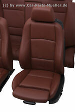 1 1' 1er BMW E82 LEDERAUSSTATTUNG SPORTSITZE LEDER SITZE M PAKET SPORT SEATS