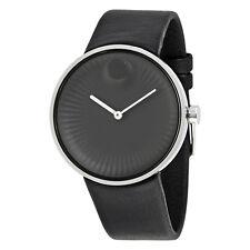 Movado Edge Black Aluminum Dial Mens Watch 3680002