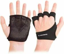 Nh Weight-Lifting Workout Crossfit Fitness Gloves, Callus-Guard Medium, Black