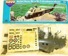 WESTLAND WESSEX mk.i 31 Anti Submarino Helicóptero F247 NOVO 78025 1:72 emb.orig