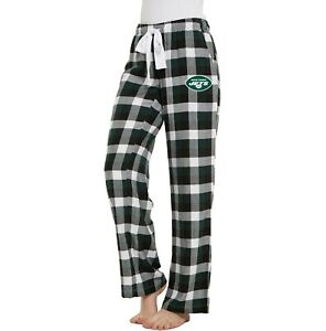 New York Jets Women's Concepts Sports Breakout Flannel Pants  - FREE SHIPPING