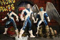 Marvel Legends X-Men Lot - custom design - Archangel, Ice-Man, and Cyclops.
