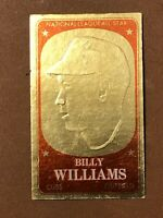 1965 Topps Embossed Billy Williams Card #40 EX-NM HOF Chicago Cubs