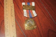 VINTAGE LINCOLN HOSPITAL WINNING TEAM MEDAL MILITARY OR HUNTING MEDAL