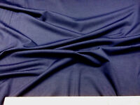 Discount Fabric Polyester Lycra Spandex 4 way stretch Navy LY951