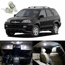 19 x Pure White LED Interior Lights Package Kit For Acura MDX 2001 - 2006