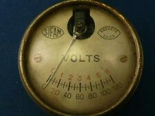 VINTAGE ELECTRONICS SIFAM VOLT METER BREVETE S.G.D.G.