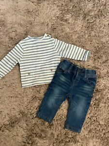NEXT, ZARA BABY BOYS 3-6 MONTHS OUTFIT, JEANS TOP BUNDLE COMBINED POST