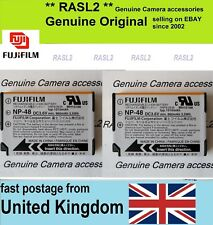 2 X Genuine Original Fujifilm NP-48 Battery FinePix XQ1 XQ2