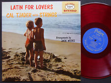 CAL TJADER Latin For Lovers LP FANTASY 8016 US 1958 DG ST RED WAX Vince Guaraldi