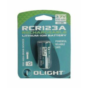FR NK372-CB Olight RCR123A 650mAh 3.7V Batterie rechargeable