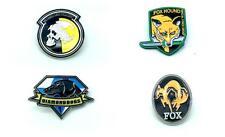 More details for metal gear solid cosplay metal pin badge satz von vier