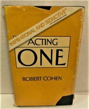 Acting One by Cohen, Robert First Edition HC DJ 1984