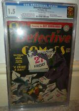 Detective comics 71 Batman Joker story Classic cover 1942 1.5 CGC golden age