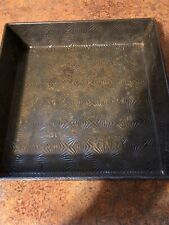 """Vintage Ovenex N-632 10"""" Square Starburst Cakepan Great Condition Needs Cleaning"""