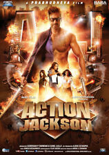 ACTION JACKSON (2014) AJAY DEVGAN, SONAKSHI SINHA - BOLLYWOOD MOVIE DVD