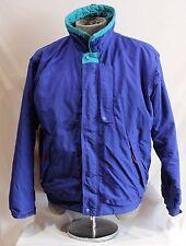 Vintage Patagonia Purple Teal Winter Coat Jacket Full Zip Front Ski Mens M 85321