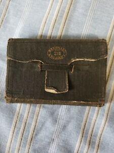 1922 Handwritten Diary~Frank Patterson~Huntington Pa~Medical Examiner Penn. RR!