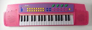 Circuit Bent Kids Musical Fun Pink Keyboard Tested Working