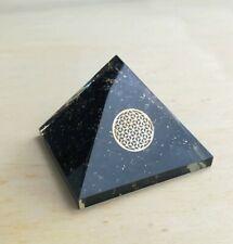 Orgonit Pyramide - Turmalin Blume des Lebens programmiert nach Agnihotra 239