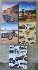 Lot of 5 Harley-Davidson Genuine Motor Accessories Genuine Motor Parts Catalogs