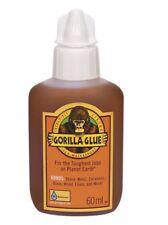 Gorilla Glue Colla Impermeabile 60 ML SUPER LEGNO METALLO PIETRA CERAMICA VETRO Schiuma