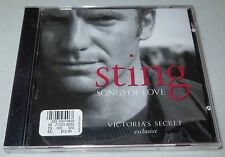 Sting - Songs of Love (CD, 2003) Victoria's Secret Exclusive, When We Dance, NEW
