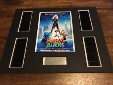 Monsters Vs Aliens - 35 mm Film Cell Display Presentation Christmas Gift