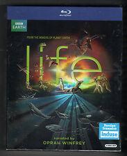 BBC LIFE Narrated by Oprah Winfrey 4-DISC BLU RAY BOXSET BRAND NEW box set earth