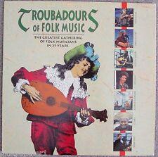 TROUBADOURS of FOLK MUSIC  Arlo Guthrie Odetta Janis Ian Richie Havens Laserdisc