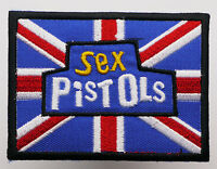 SEX PISTOLS - Embroidered Iron-On Rock Band Music Patch - MIX 'N' MATCH - #4E06