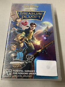 TREASURE PLANET - Walt Disney Animated Feature VIDEO VHS 📼 Pal