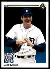 1990 Upper Deck Baseball Jack Morris Detroit Tigers #573