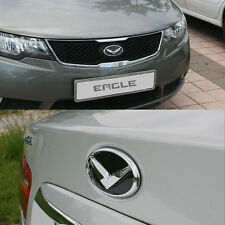 Eagle Grille + Trunk EMBLEM SET Badge for 2009-2013 KIA FORTE KOUP 2DR