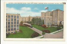 Vintage 1944 NCR NATIONAL CASH REGISTER DAYTON OHIO POSTCARD SIGNED WW2 ERA